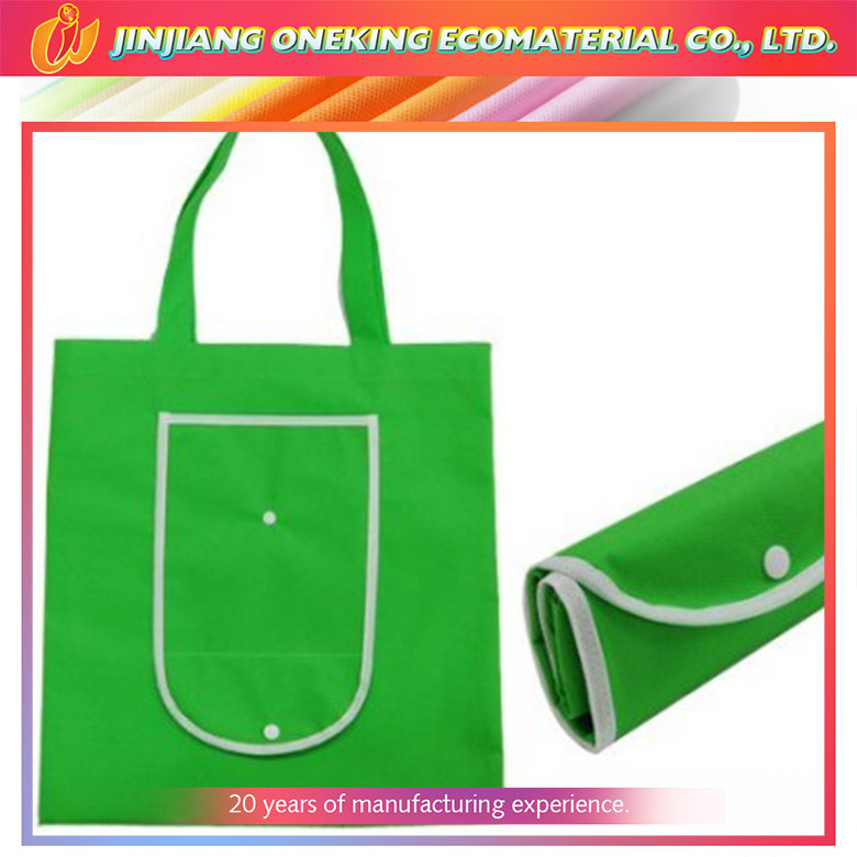 hot sale custom new design nonwoven fabric foldable shopping bag