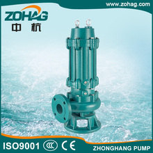 Sewage Single Phase Pump Structure Electric Waste Water Pump