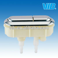 Chrome button for bathroom accessory of toilet tank repair kit & fixture for one/two piece toilet