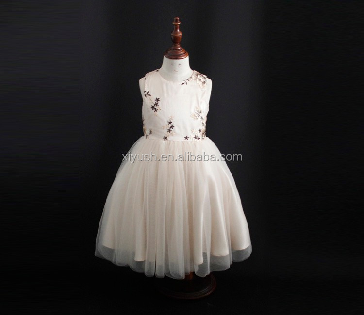 stocked high quality cutting and sewing dress