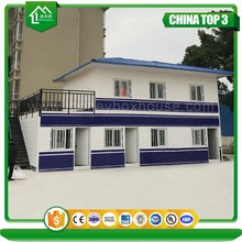 CSC CE certification second hand low cost container house, prefab temporary shipping container house project