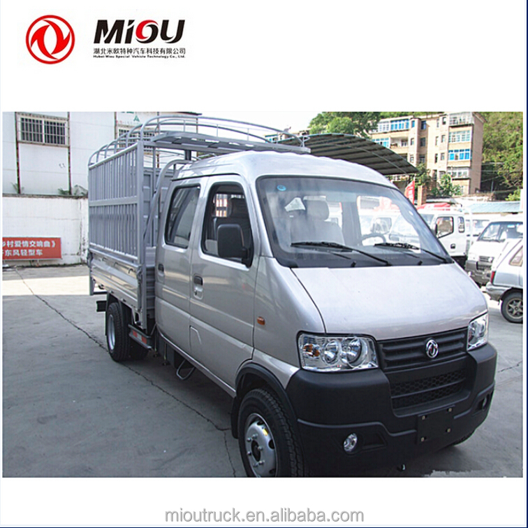 Dongfeng diesel used mini trucks 87hp Small Cargo Trucks for sale
