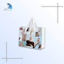 Shopping printing gift packaging cotton small tote bag