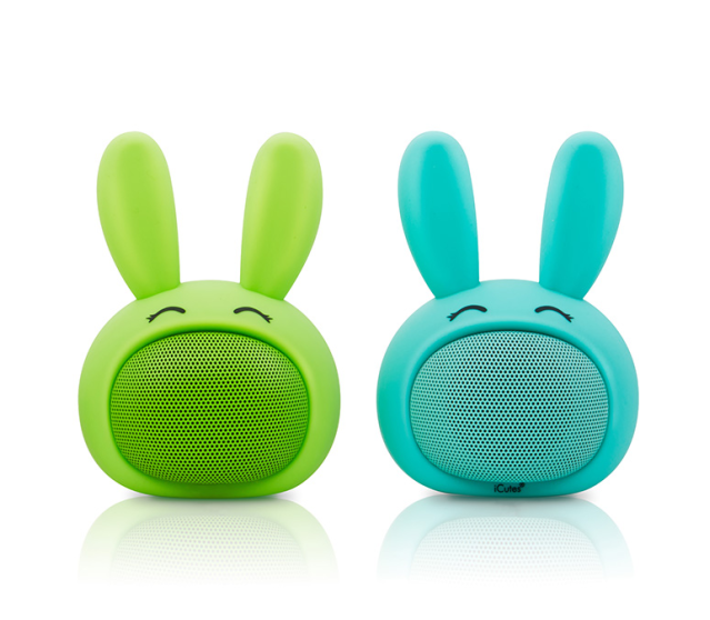Cute Animal Design & 3.5mm Cable to Connect to Phones mini speaker NSP-0063
