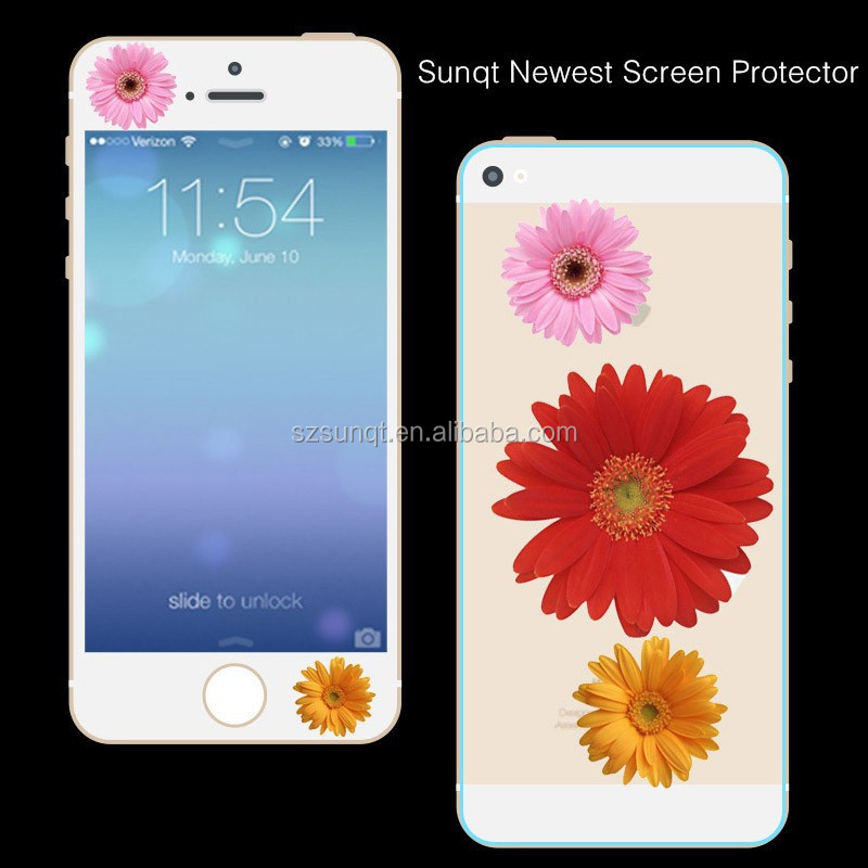 Sunqt cartoon printing tempered Glass Screen for Iphone5/5c/5s used mobile phone,stock supply alibaba express
