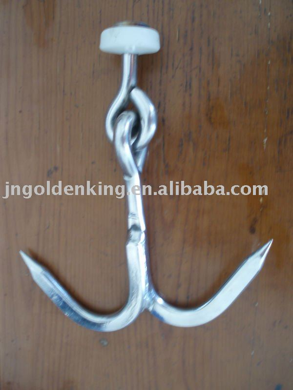 Double Meat Hook for Meat Transportation Truck Bodies
