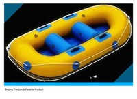 2015 High Quality yellow inflatable boat for sale