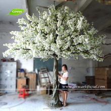 big crown white flowers artificial trees cherry blossom 4 meter decorative for wedding