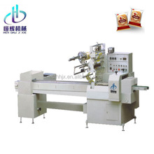Automatic horizontal pillow packing toothbrush packaging machine