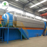 Non stop tyre pyrolysis plant for oil with competitive price