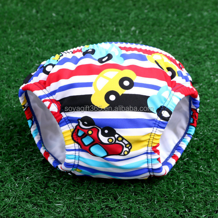 New Various Pattern Cotton cCartoon Baby Swim Trunk