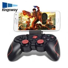 100% Original Terios T3 Wireless Bluetooth Game Handle Controller Remote Gamepad For Smart Tv Pc Game Controller
