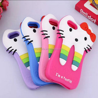 New im a tooth silicone phone case for samsung s4 cover for S3 S5 S6 3D rubber case