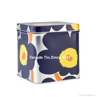 Famous brand supplier Rectangular Candy Cookie Biscuit Metal Tin Box