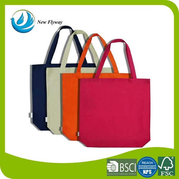 Eco-friendly cheap durable heavy duty tote cotton canvas shopping bag wholesale for woman