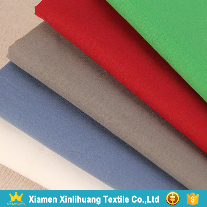 Good Handfeel Soft 80 Polyester 20 Cotton Blend Poplin Fabric for Shirting