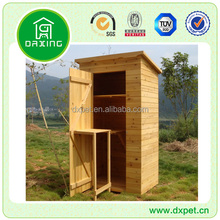 Best quality waterproof easy clean wooden garden shed