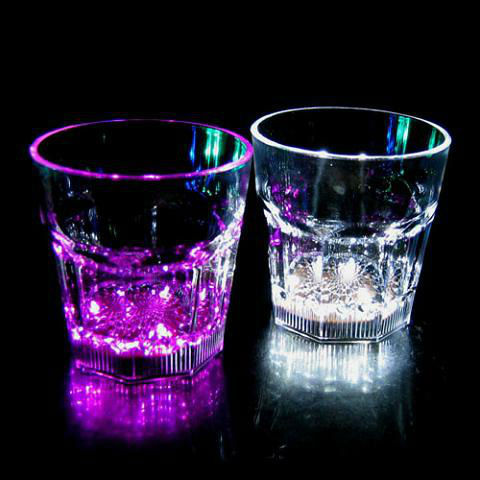 color whisky glasses /beer cup/drinking glass for promotion