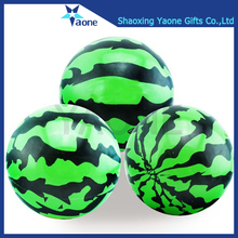 Promotional custom size soft 12inch watermelon shaped big beach ball