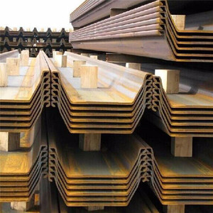 Factory Outlet U /Z/L shape structure Lassen Steel Sheet Pile with low price