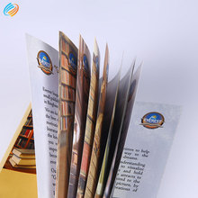 Fast Delivery Free Design 128g Art Paper Product Catalogue Printing