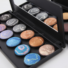 Make-up Precision 12 Colors Baked Silky Eyeshadow SELAMY Brand