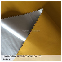 Best Price China 190T waterproof fabric with pu coated