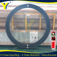 Aluminum Round Open Window from YY factory of Aluminium double glazed windows & doors solutions