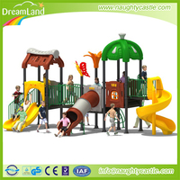 Heavy duty outdoor playground equipment children outdoor playground big slides for sale