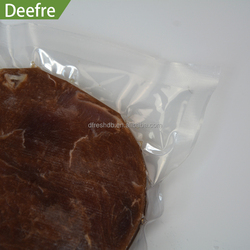 Hot sell transparent smooth plastic bags for frozen food