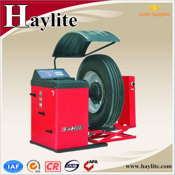 China used motorcycle truck wheel balancer
