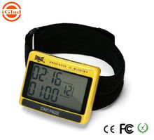 Handheld Digital LCD Sports Stopwatch Professional Chronograph Counter Timer High quality