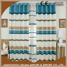 Fashion modern striped small window curtains