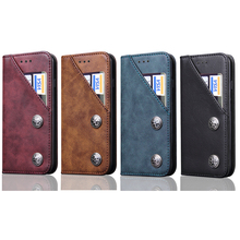 for iPhone 6 plus New Design Full Protect Case,For iPhone 7 plus Luxury Leather Magnetic Flip Wallet Cover