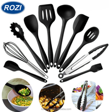 Cooking Utensils Non Stick Heat-Resistant Silicone Kitchen Set 10pcs Spatula Baking Tools Utensils Set