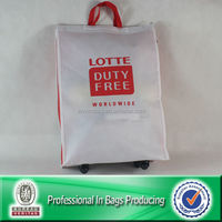 Lead-free Large Bag Shopping Bag with Wheel