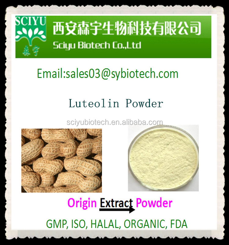 Reliable Supply Peanut Shell Extract Luteolin Powder 98%