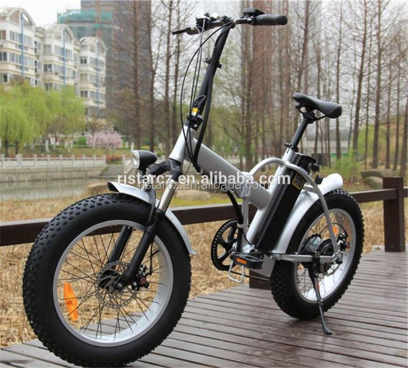 Beautiful 500W fat tire snow electric bike for city/road rider