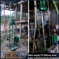 DF-180A small cheap bore well manual drilling equipment