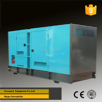 50Hz 3 phase 100KW/125KVA Silent type Diesel generator with Cummins 6BT diesel generator