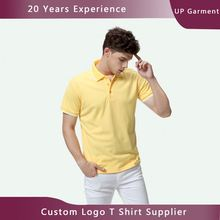 Manufactory silk screen logo printing no label polo shirt