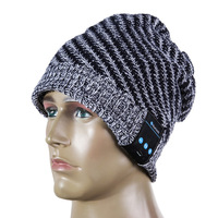 Wholesale winter warm wireless bluetooth music headphone beanie hat