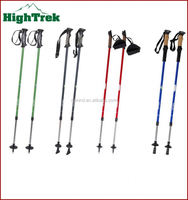 2014 New design fashionable high temperature resistant light weight wear-resisting nordic walking sticks/poles