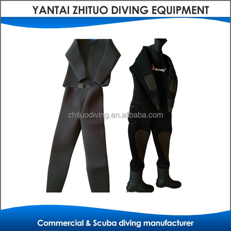 factory offer high end full rubber diving suit for men