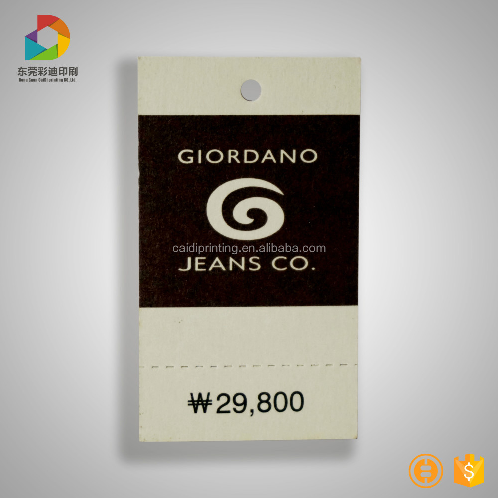 China fancy garment tag design,custom price tag, recyled hang tag for shoes