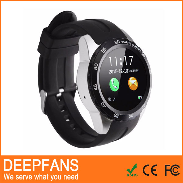 Bluetooth KW08 Smart Watch Ip67 Life Waterproof Smart Watch Wrist Watch For Moto D360