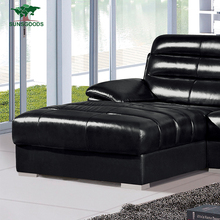 Wholesale Price Black Leather Sofa Bed,Black Leather Sofa Set