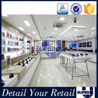 new design retail store display furniture design for mobile shop