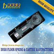 DUGO 1800-6 Double Swing Hydraulic Floor Spring Hinge Heavy Duty Pivot Door Closer Of Glass Door Accessories
