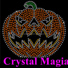 thanksgiving holiday design crystal rhinestone iron on motif